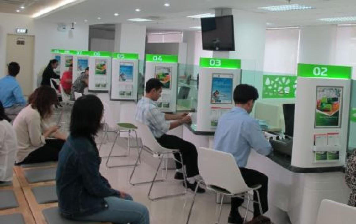 vay tín chấp theo lương tiền mặt Vietcombank