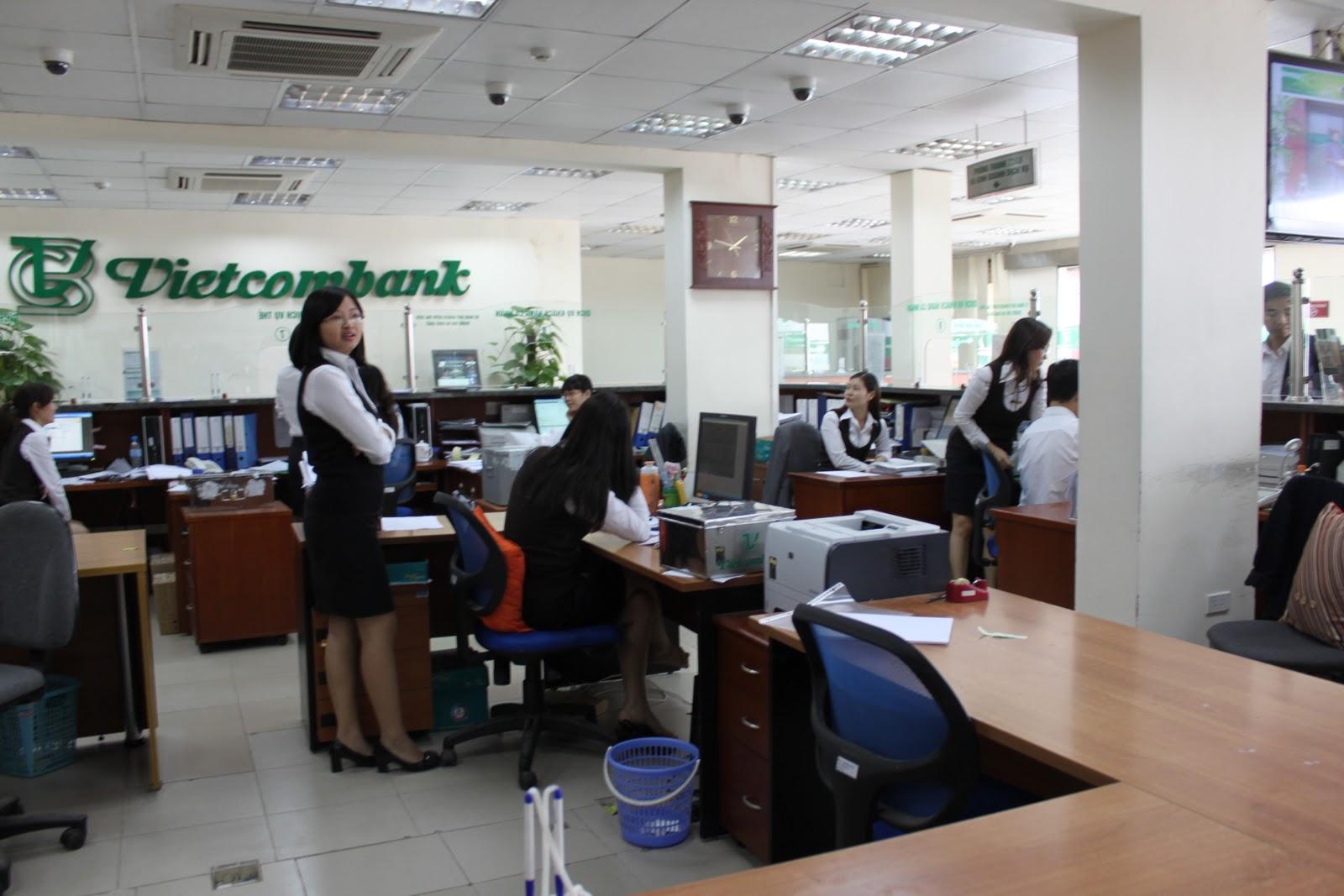 Vay tín chấp doanh nghiệp Vietcombank